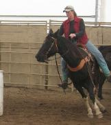 Janel Brookshire western riding instructor